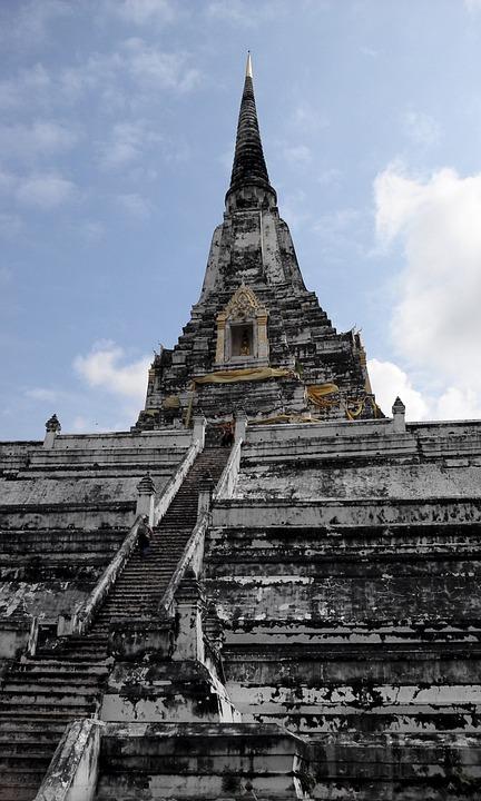 Thailand, Temple, Asia