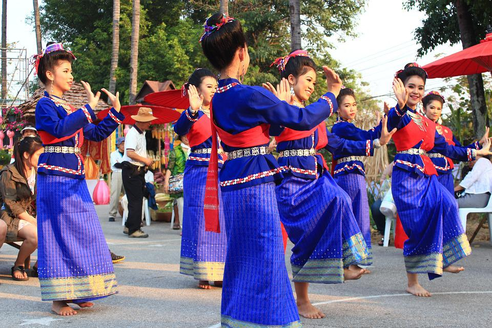Thailand, Dance, Traditional, Thai, Asia, Culture, Girl