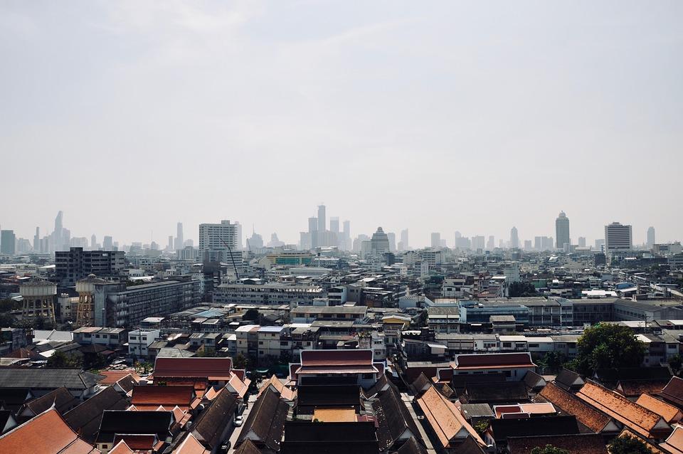 Asia, Thailand, Bangkok, View, Panorama, Traditionally