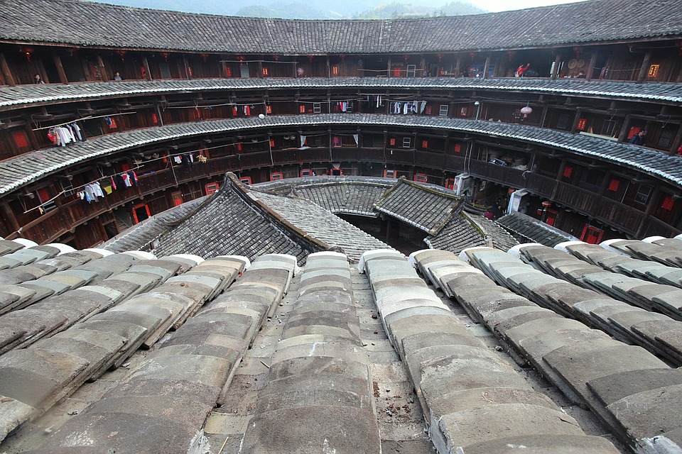 China, Old, Architecture, Chinese, Terrorism, Asian