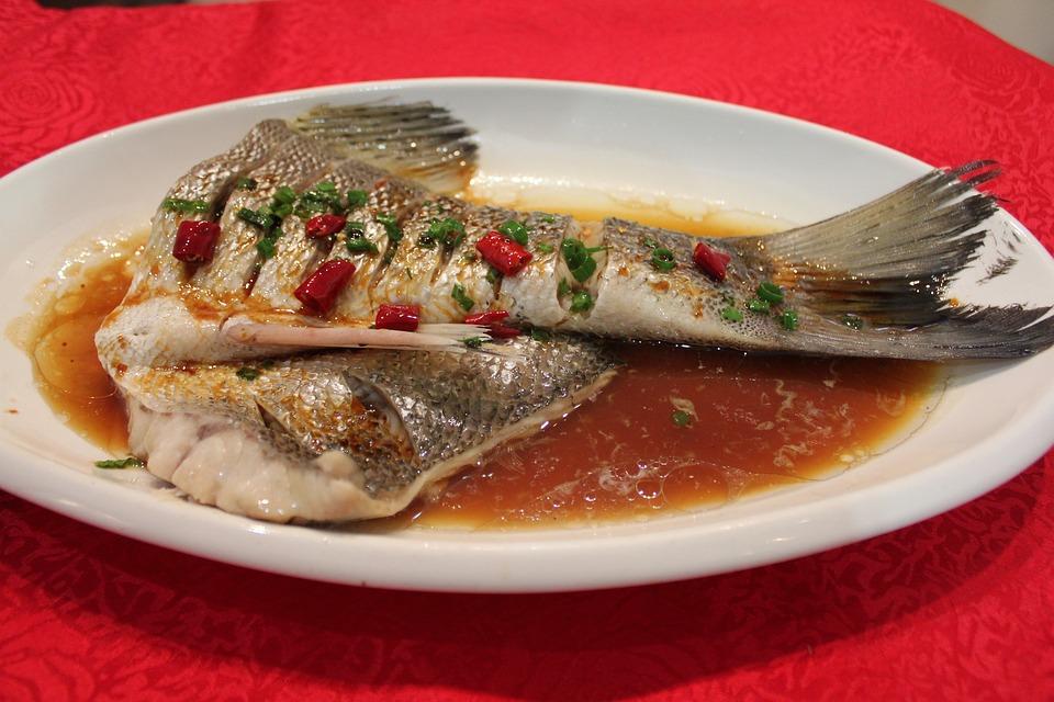 Gourmet, Shooting, White Fish, Asian Cuisine, Food