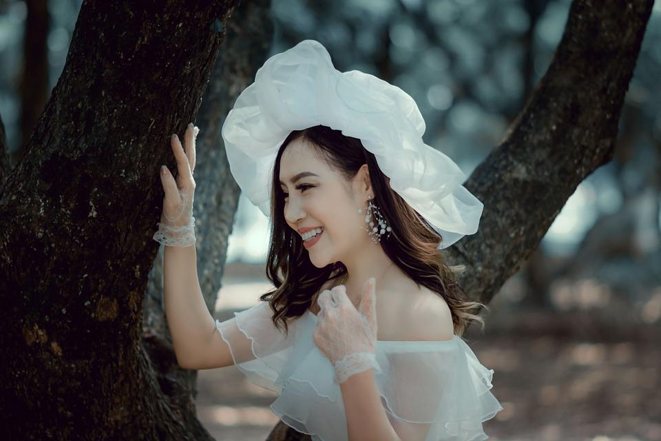 Girl, Asian, Vietnam, Female, Model, Portrait, Fashion