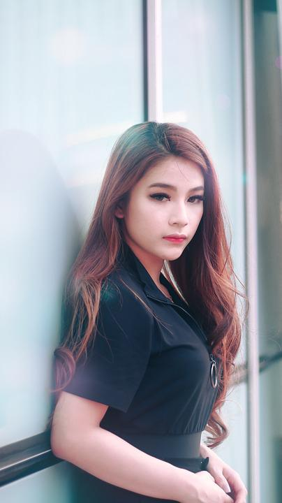 Asian, Girl, Female, Model, Portrait, Fashion