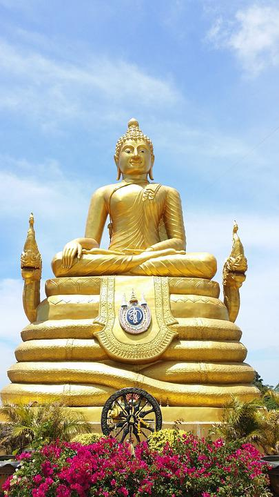 Thailand, Buddha, Statue, Buddist, Asian, Phuket