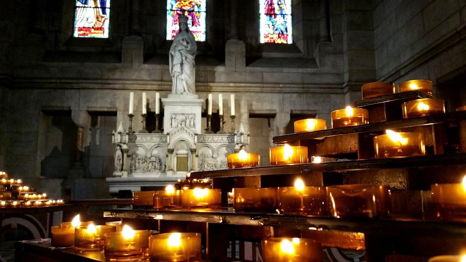 Paris, Church, Light, Ask, Religion