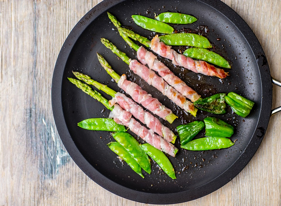 Asparagus, Breakfast, Nutrition, Dish, Egg, Appetizer