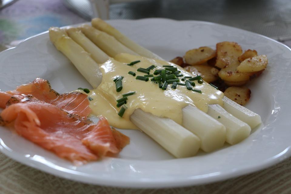 Asparagus, Season, Eat, Restaurant, Baden, Vegetarian