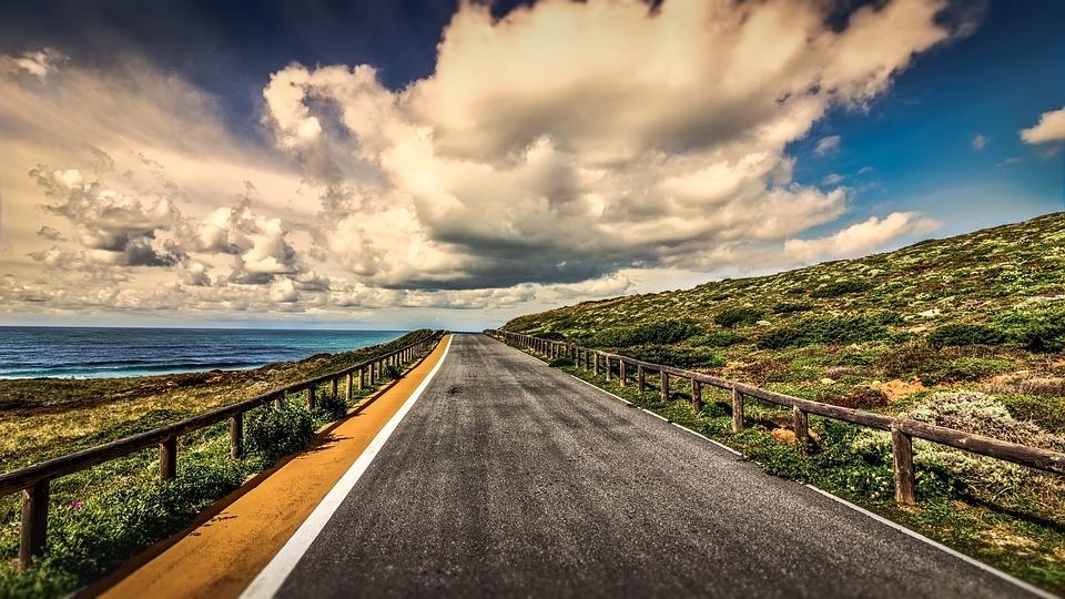 Sky, Travel, Road, Nature, Panoramic, Asphalt, Scenic