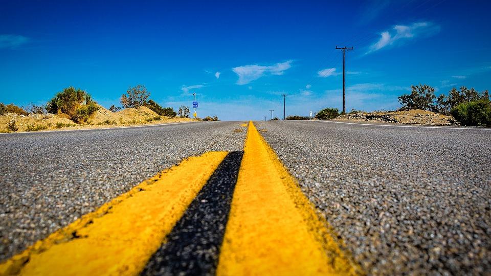 Usa, Road, America, Straight, Asphalt, Highway
