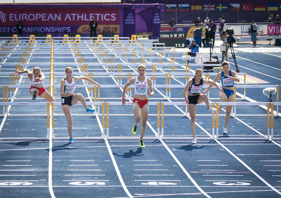 Running, Hurdles, Athletics, U23, Em, Competition, Ass