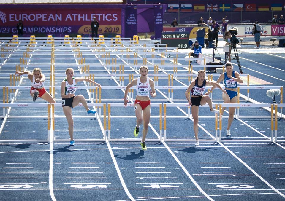 Running, Hurdles, Athletics, U23, Em, Competition, Ass