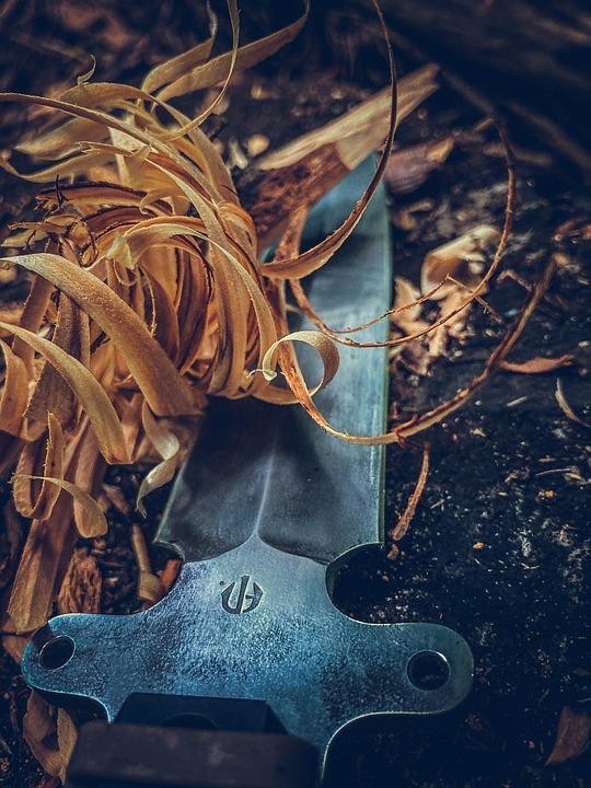 Knife, Blade, Sharp, Tool, Assassin, Wood, Bush Craft