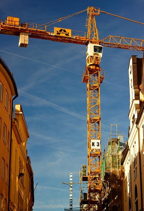 Munich, Baukran, Machines, Architecture, Site, Assembly