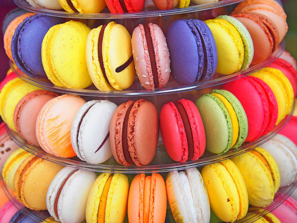 Color, Macaroon, Gourmet, Confection, France, Assorted