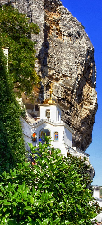 Assumption, Monastery, Of The, Cave, Crimea