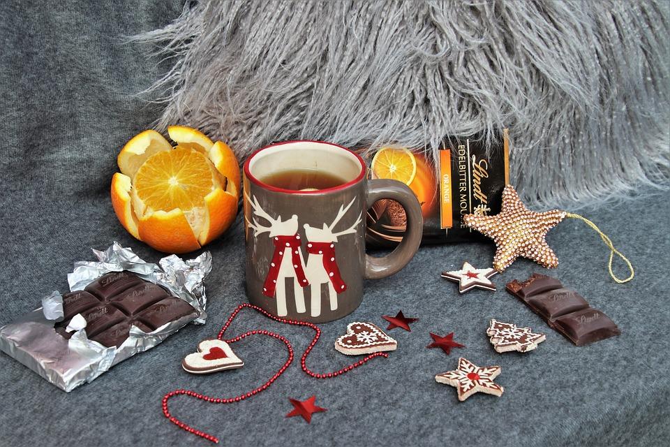 Orange, Sweets, Dessert, Asterisk, Sweet, The Cup