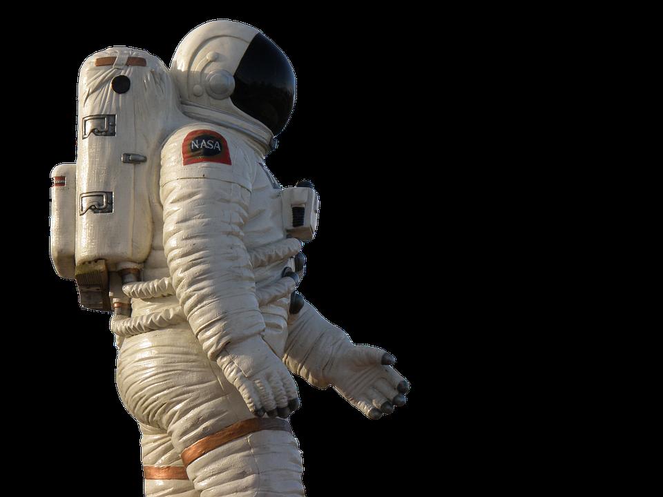 Astronaut, Isolated, Wear Protective Clothing, Nasa