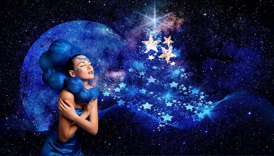 Moon, Astronomy, Space, Galaxy, Fantasy