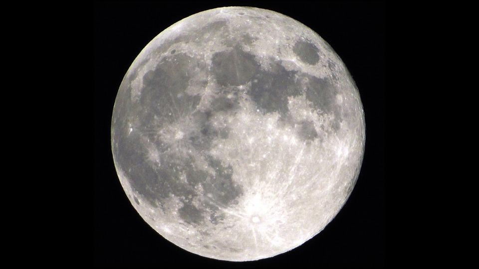 Moon, Full Moon, Moonlight, Lunar, Astronomy, Luna