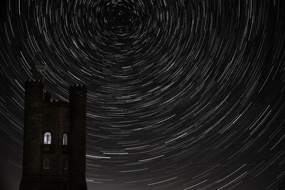 Astronomy, Star, Universe, Night, Nature, Trail, Stars