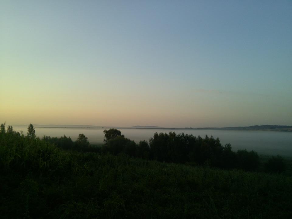 Nature, Morning, Morning Mist, Dawn, Landscape, At Dawn