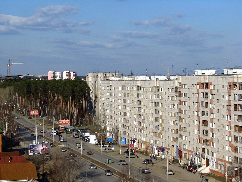 The City Of Perm, Kirovsky District, Pine, At Home