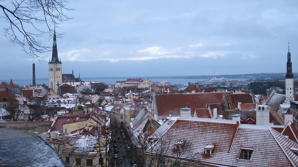 City, Roof, Winter, At Home, Sky, Old Town, Tourism
