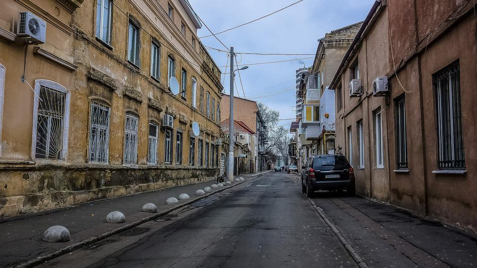 Odessa, Street, Machinery, At Home, Window