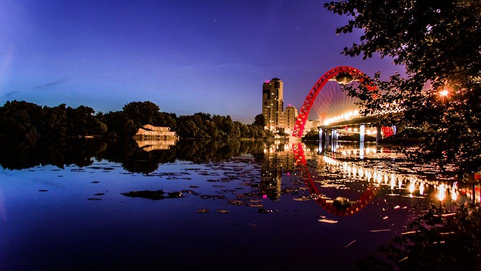 The Picturesque Bridge, At Night, Climb