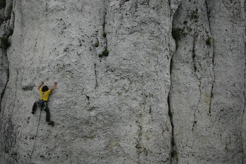Climb, Harsh, Stone, Rock, At The Court Of, Nature
