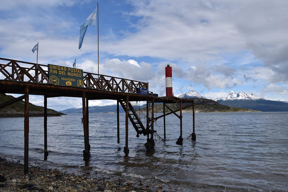 Argentina, Ushuaia, At The End Of The World, Post