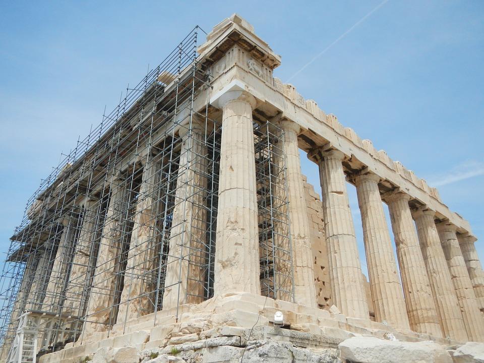Acropolis, Athens, Greece, Temple, Archaeology