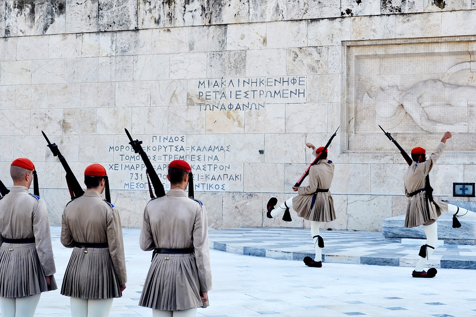Changing Of The Guard, Greek Parliament, Athens