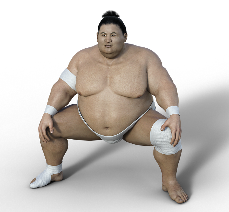 Sumoringer, Athlete, Wrestler, Sport, Overweight, Sumo