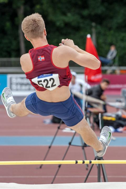 Athletics, Pole Vault, Sport, Junior Gala Mannheim
