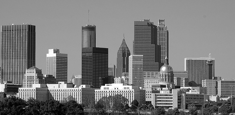 Atlanta, Georgia, City, Cityscape, Downtown