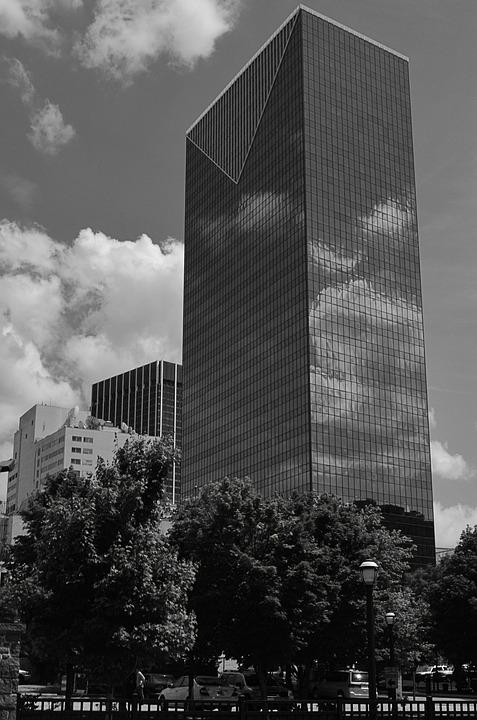 Atlanta, City, Skyline, Cityscape, Architecture