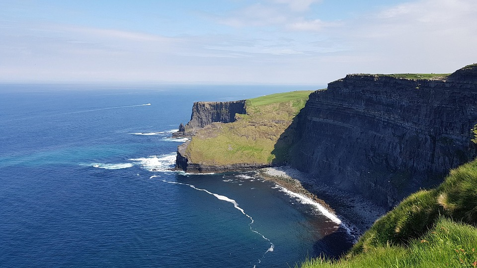 Coast, Cliffs, Landscape, Moher, Atlantic, Ireland