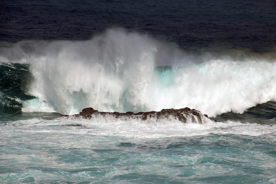 Surf, Waters, Ocean, Wave, Force, Atlantic, Big Wave