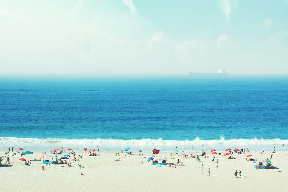Atlantic, Beach, Blue, Brazil, Fun, Hot, Ocean, People