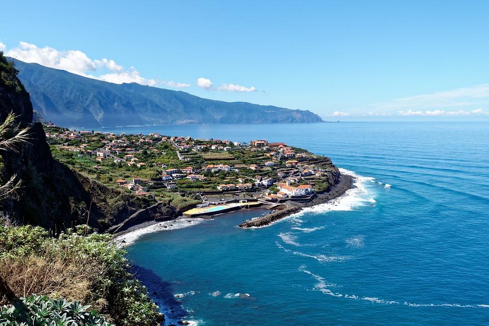 Madeira, Coastal Landscape, Atlantic, Island, Tourism