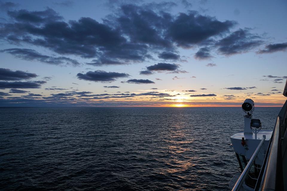 Sky, Ocean, Sea, Atlantic, Water, Blue