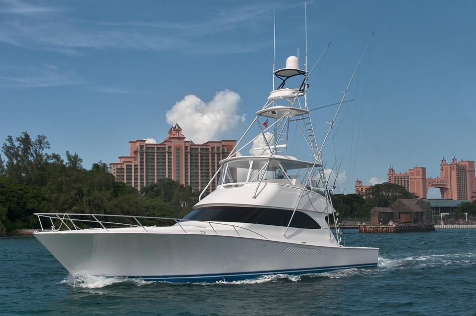 Yacht, Sailing, Bahamas, Atlantis, Sea, Boat, Water
