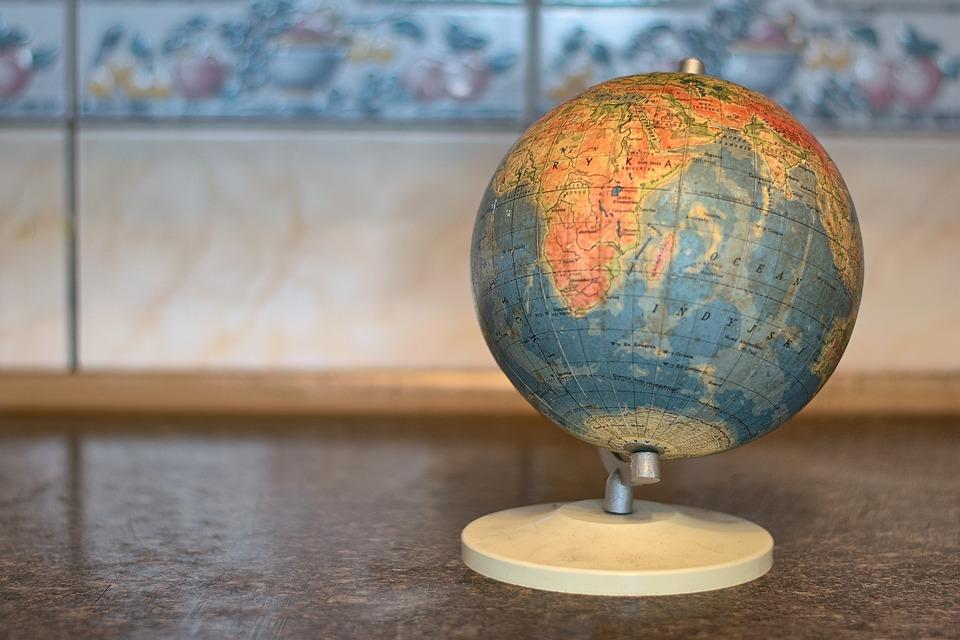 Globe, Atlas, Earth, Map, Cartography, Sphere, World