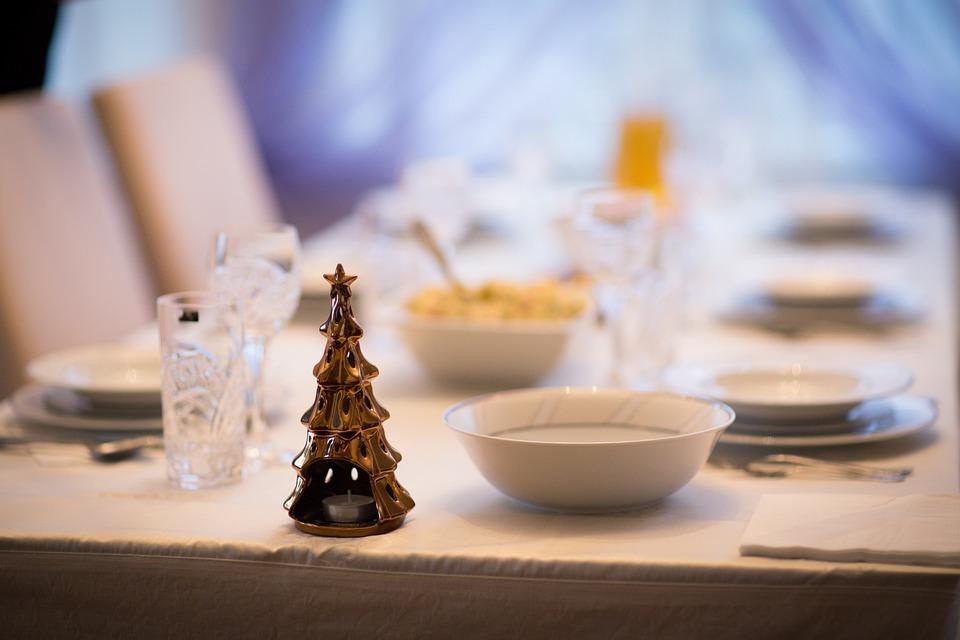 Carol, Dining Table, Christmas, Decoration, Atmosphere
