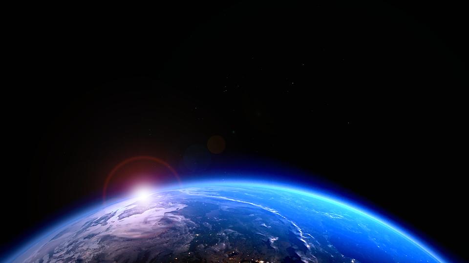 Globe, Astronomy, Atmosphere, Forward, Cosmos