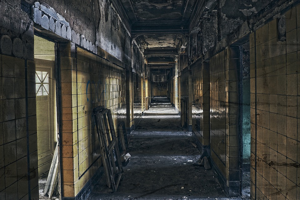 Lost Places, Floor, Pforphoto, Gang, Atmosphere, Decay