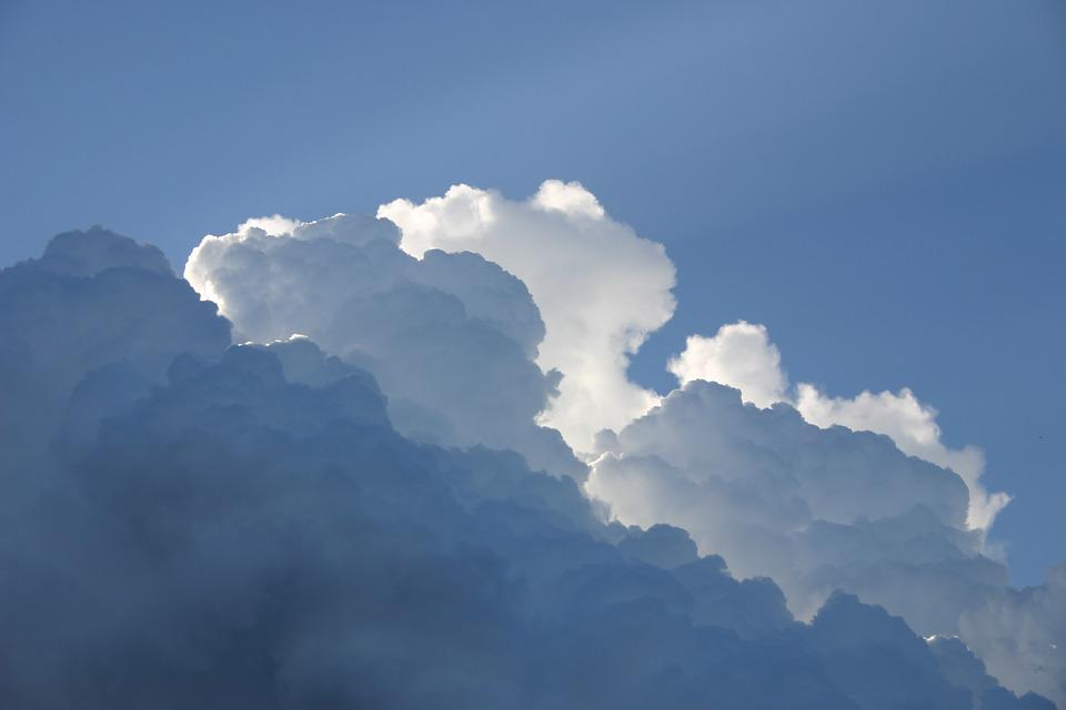 Clouds, Sky, Atmosphere, Sunlight, Cloudy, Dark Clouds