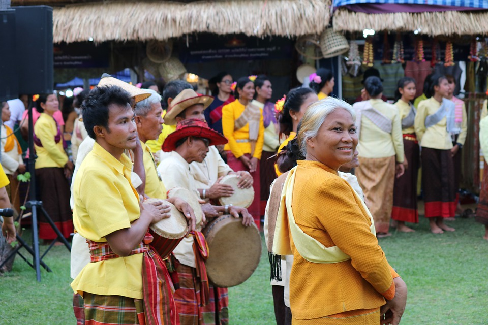 Thai, Thailand, Atmosphere, Traditional, Asian