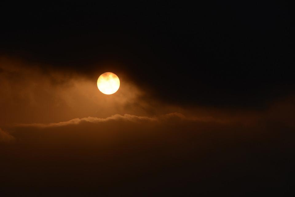 Sunrise, Morgenstimmung, Atmospheric, Morgenrot, Nature
